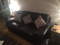 Dfs sofa large 2seat leather