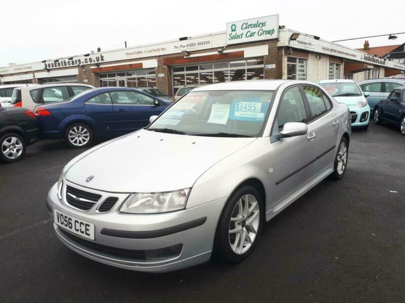2006 Saab 9-3 1.9 TiD Diesel Vector Sport Auto From £2,695 + Retail Package Salo