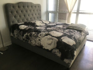 Upholstered Queen Bed Frame