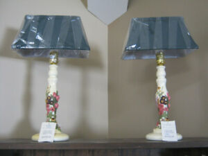 Brand New 2 Piece Set of Goldcoaster Lamps and Shades.
