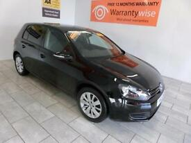 2012 Volkswagen Golf 1.6TDI ( 105ps ) BlueMotion Tech Match