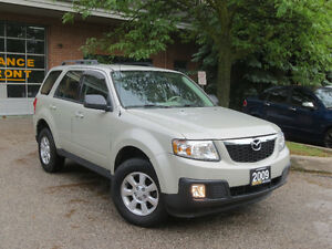 2009 Mazda Tribute SUV, MINT CONDITION,NEWER TIRES,CERTIFIED