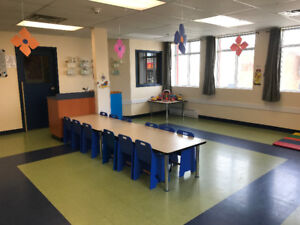 Beautiful, turn-key commercial space for a daycare available !