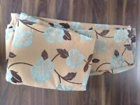 """Lovely quality thick curtains 90"""" drop vgc"""