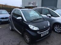 Smart fortwo 1.0 ( 71bhp ) Passion petrol convertible 2009 09 Reg