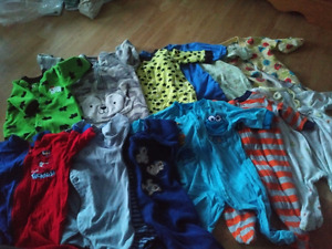 Baby Boy's clothes 0-3 months ( 39 pieces)