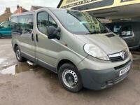 2013 Vauxhall Vivaro WHEEL CHAIR ACCESSIBLE RAMP Wheelchair Accessible Vehicle D