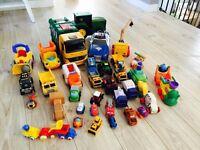 Truck lot!!