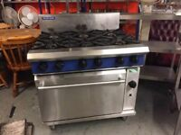Blue seal range cooker