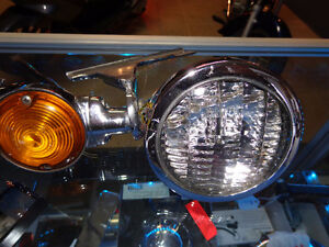 Harley Aux, Headlights     recycledgear.ca Kawartha Lakes Peterborough Area image 1