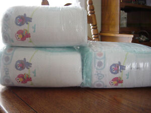 83 couches  baby dry  PAMPERS  grandeur xl 6 =pour 10$