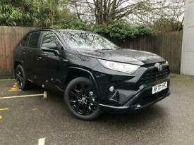 image for 2021 Toyota RAV4 2.5 VVT-i Hybrid Black Edition 5dr CVT ESTATE Petrol/Electric H