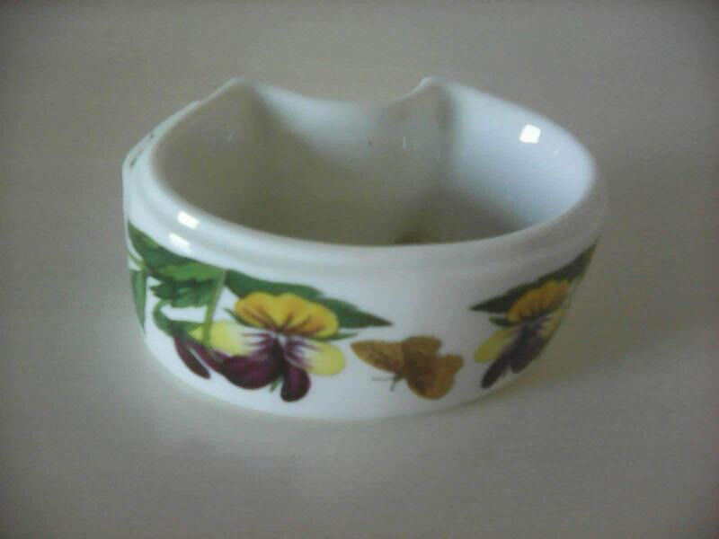 6 China Botanic Garden Napkin Rings