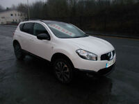 NISSAN QASHQAI 360 IS DCI DIESEL 5 DOOR PAN ROOF 1 OWNER F.S.H. SAT NAV 2013-63