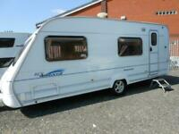 2005 ACE Aristocrat 6 Berth Touring Caravan (Fixed Bunk Beds)
