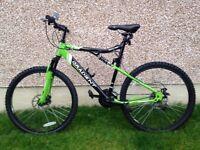 """Men's apollo 22"""" Mountain bike"""