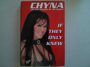 WWE WWF book Chyna If They Only Knew $5