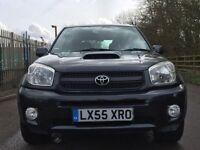 Toyota RAV4 d4d tx4 fully loaded 1 year mot