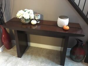 Entrance side table