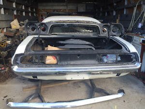Non Rusted Classic 1973 Dodge Challanger for you to re-Build!