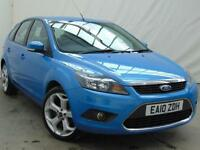 2010 Ford Focus TITANIUM Petrol blue Manual