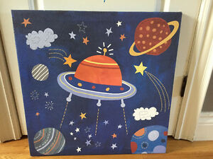 Pictures for nursery - Outer space theme Peterborough Peterborough Area image 2