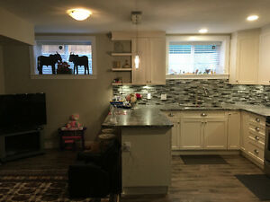 Beautiful basement apartment available May 1