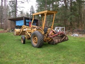 Full size tractor