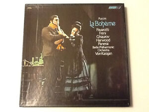 2LP-Vinyl-Puccini La Boheme-BerlinOrchestra-Conductor:VonKarajan