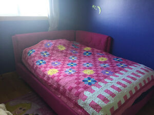 Girls double bed