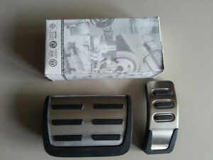 OEM Audi Aluminium Sport Gas and Brake Pedal Kit for automatic