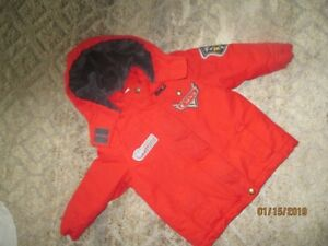 Size 3T Cars Winter Coat