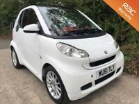 2011 61 SMART FORTWO 1.0 PASSION MHD 2D AUTO 71 BHP
