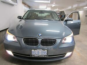 2008 BMW 5-Series 528XI - BROWN LEATHER interior