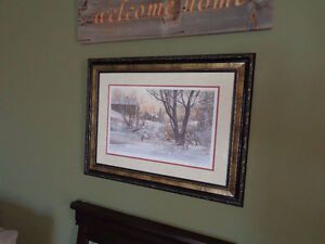 """D.R. Laird """"Next Goal Wins"""" Limited 1397/1950 Signed by Artist Kitchener / Waterloo Kitchener Area image 4"""