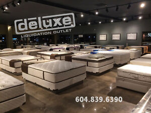 SIMMONS SERTA SEALY S&F KINGSDOWN & more LIQUIDATION EVENT North Shore Greater Vancouver Area image 4