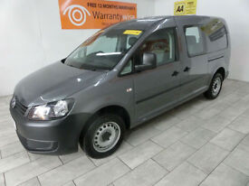 2014 Volkswagen Caddy Maxi 1.6TDI (102bhp) DSG Maxi **BUY FOR ONLY £55 A WEEK**