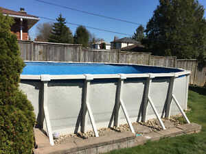 24' x 12' above ground pool
