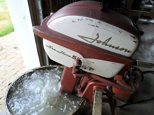1958 Johnson 5-1/2 HP Outboard