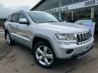 2012 Jeep Grand Cherokee 3.0 CRD Overland 5dr Auto Estate Diesel Automatic