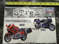 YAMAHA 1993 STREET ACCESSORIES MOTORCYCLE BROCHURE CATALOG