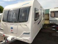 2013 4 birth end washroom Bailey Pegasus 2 Rimini caravan for sale