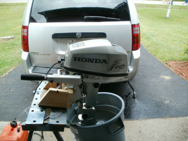 Used 2000 Honda 5hp long shaft