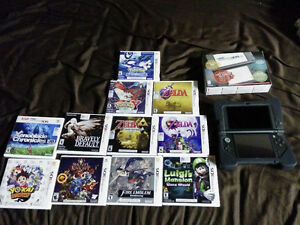 New 3ds XL +  Games