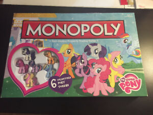 My Little Pony Monopoly Game