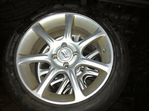 ALLOY RIMS FROM MINI COOPER (fits other vehicles)