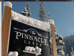 7 Nights Pinnacle Lodge Sun Peaks, BC  March 3-10