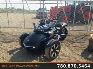 2015 Can-Am Spyder F3 S 6-Speed Manual (SM6) Steel Black Metalli