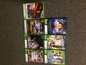 **7 Xbox 360 games for sale**