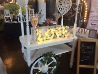 Stunning Sweetie Cart available to hire /parties/weddings /christening
